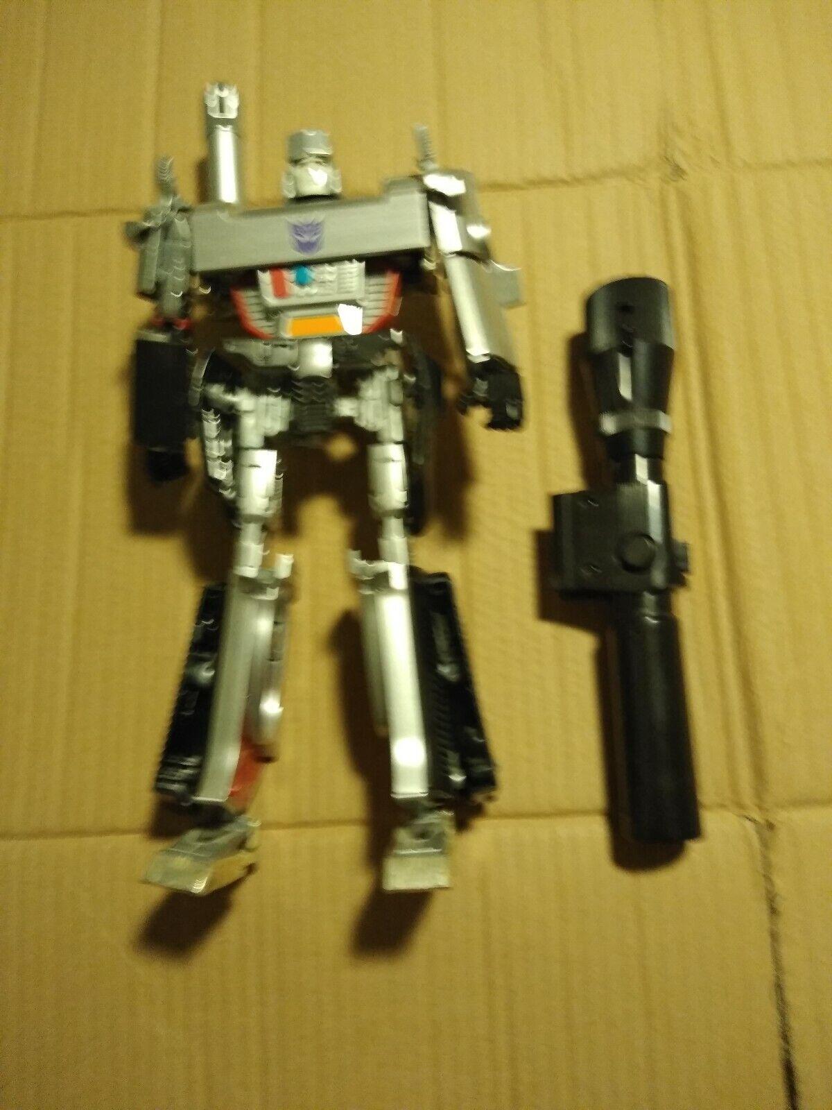 exclusivo Transformers Masterpiece Megatron Figura de 05 pistolas de máquina no no no completar partes Lote Auténtico  tienda de ventas outlet