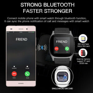 Details about Mens T8 Smart Watch Heart Rate Monitor For IOS&Android  Fitness Tracker Activity