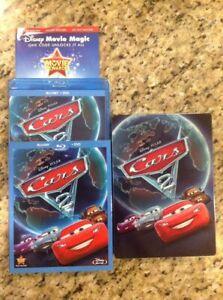 Disney Pixar Cars 2 Steelbook Collector Case Cars 2 Blu Ray Dvd 2 Disc Rare Ebay