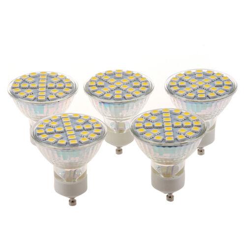 5X GU10 29LED 5W 480lm SMD 5050 warmweiss Leistungsscheinwerfer Licht Lampe V0M9
