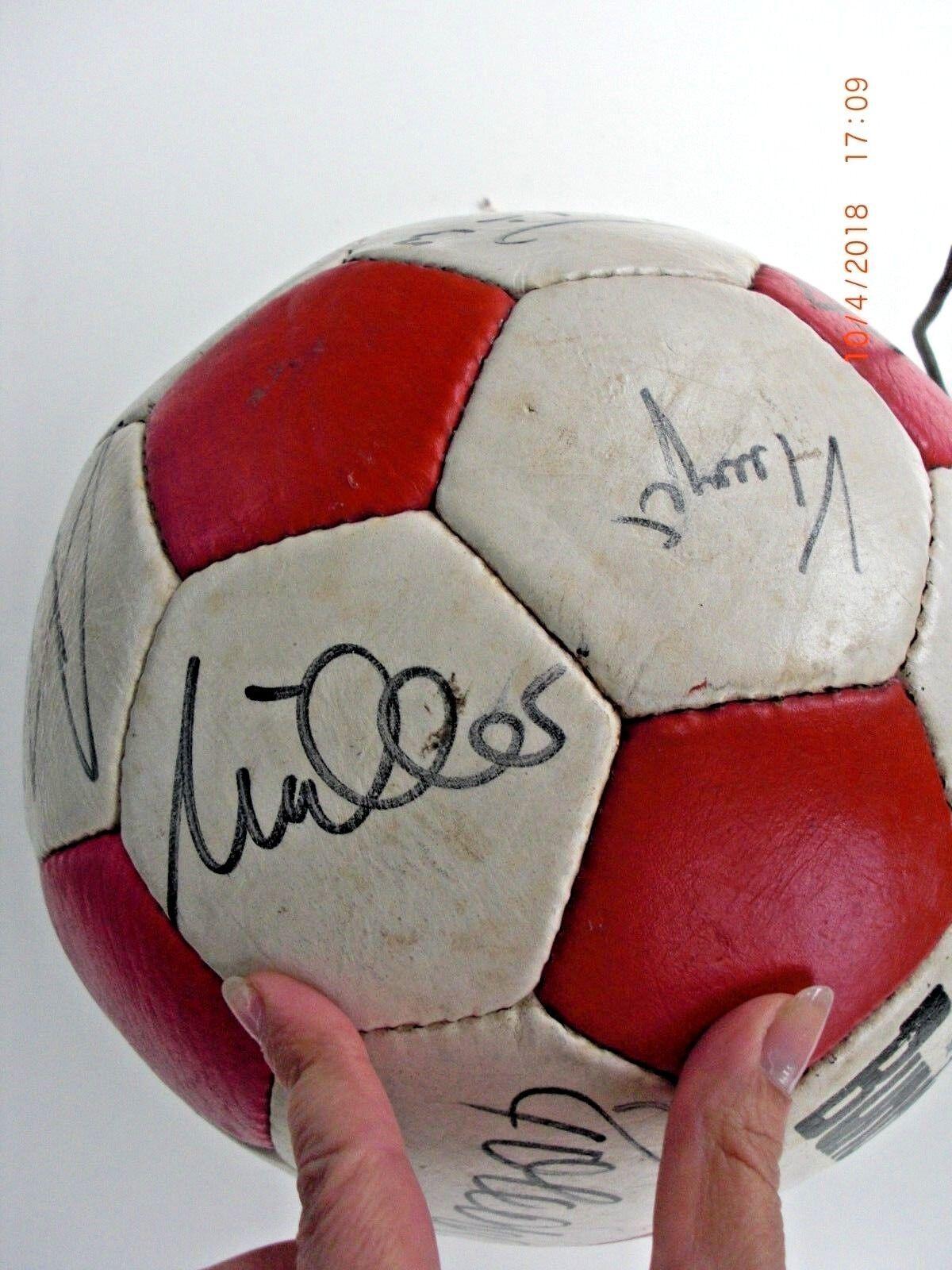 VFB Stuttgart Fußball Saison 1982 83 / 83 1982 Sammler WM e3581a