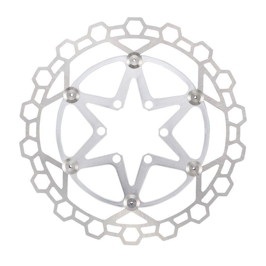 Disque flottant diamond 2p acier inoxydable 160mm silver 525170230 ALLIGATOR