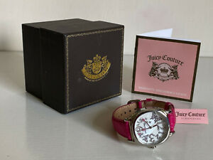 JUICY-COUTURE-SWAROVSKI-CRYSTALS-PINK-SNAKE-EMBOSSED-LEATHER-STRAP-WATCH-195