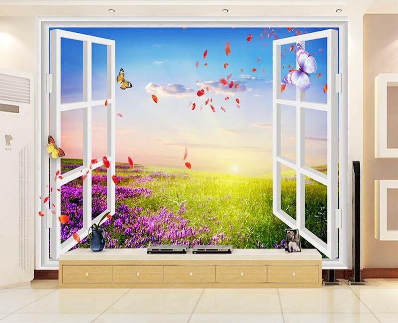 Pretty Pulpy Light 3D Full Wall Mural Photo Wallpaper Printing Home Kids Decor
