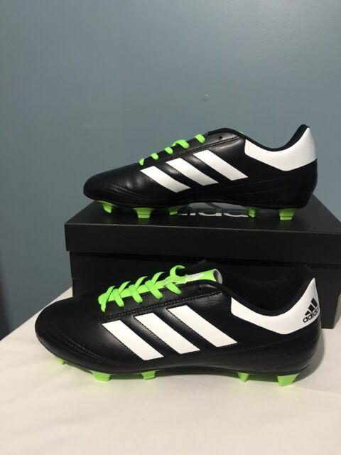 Adidas Men/'s Goletto V FG Soccer Shoe NEW Black//White Sizes 10 /& 12 S81784