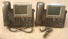 Lot Of 2 Cisco Ip Business Phones 79417961