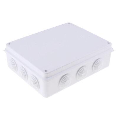 "3.1x1.6/"" ABS Plastic Waterproof Junction Box DIY Case Enclosure Round"