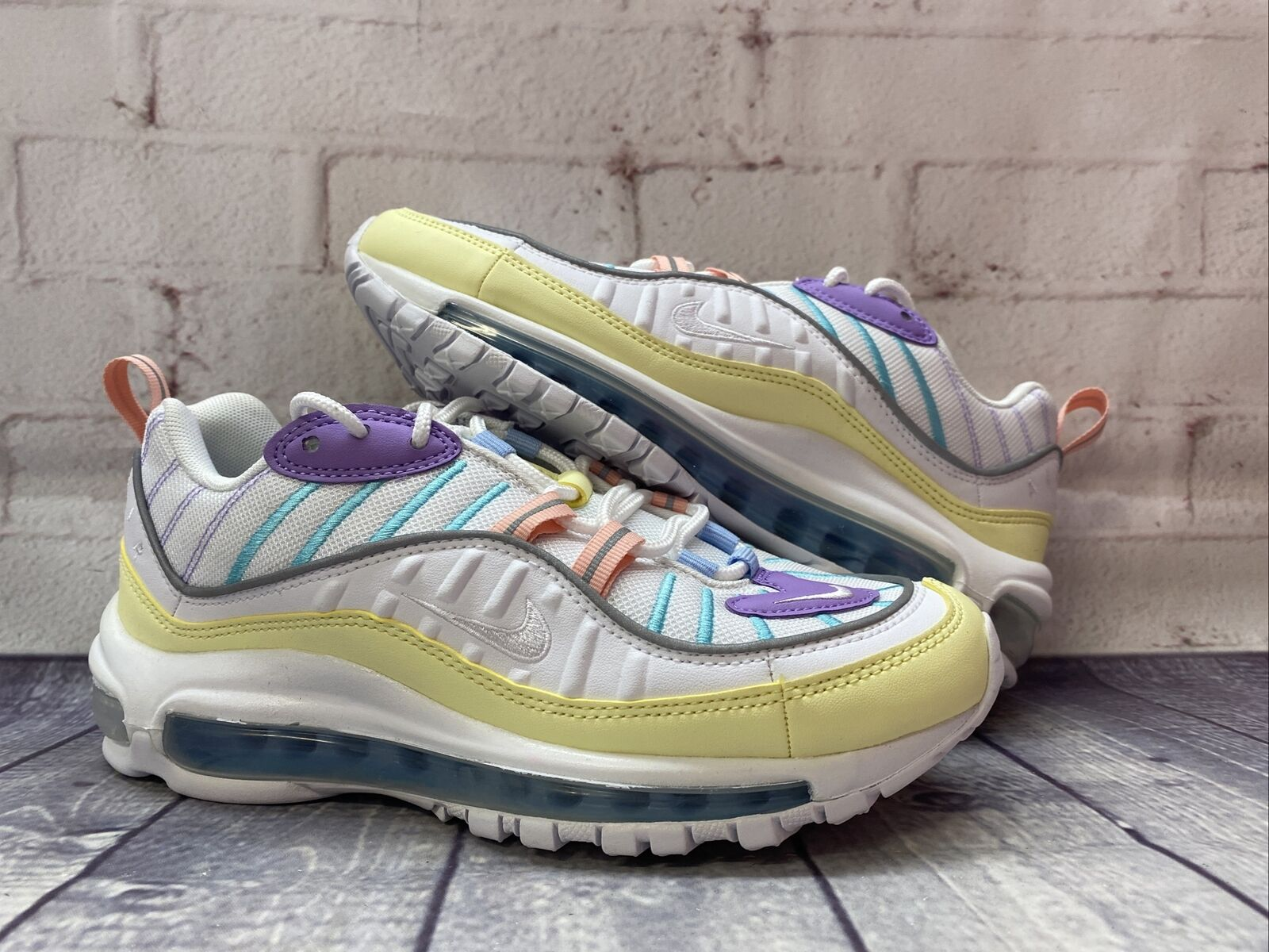 Size 7.5 - Nike Air Max 98 Easter Pastels for sale online   eBay