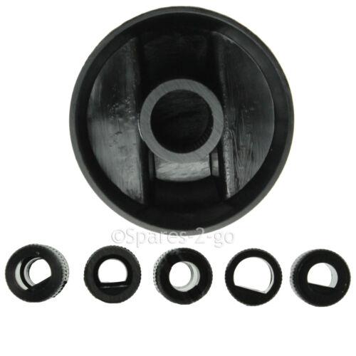 5 x Zanussi plaque de cuisson pour four et cuisinière noir bouton de commutateur Complet Kit Adaptateur