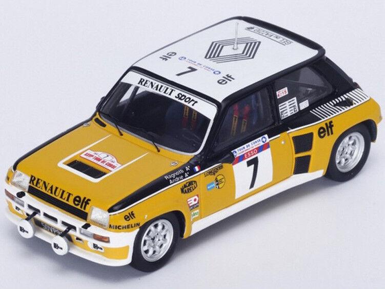 Spark Model 1 43 s3862 Renault 5 Turbo Winner Tour de Corse 1982 Ragnotti NEW