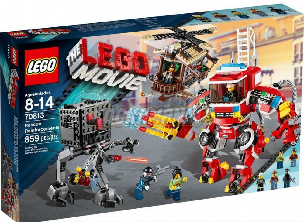 The LEGO MOVIE - RESCUE REINFORCEMENTS - 70813 - Retirot New SEALED