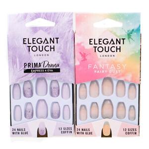 Elegant-Touch-Fantasy-Fairy-Dust-Prima-Donna-Empress-4-Eva-False-Nails-2-Packs