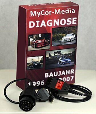 MyCor-Media ADS Interface de Diagnostic pour BMW OBD1 OBD2 EDIABAS INPA Or Rheingold