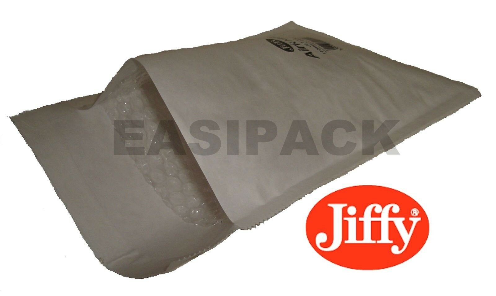 1000 JL1 Jiffy Bags Airkraft Bubble Envelopes 7  x 10  - WHITE
