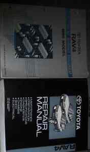 Details about 1998 Toyota Rav4 Rav 4 RAV4 Service Shop Repair Manual on