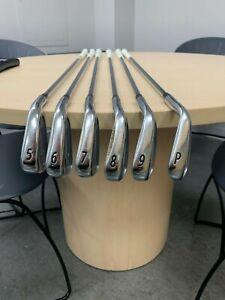 titleist 718 ap2 iron set 5-pw with golf pride grips