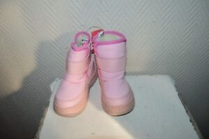 CHAUSSURE-BOTTES-NEIGE-BOOTS-APRES-SKI-SOX-TAB-TAILLE-22-SHOES-BOTAS-NEUF