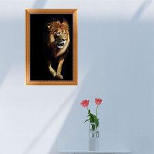 DIY Lion 5D Diamond Broderie Peinture Point de croix Artisanat maison Décor