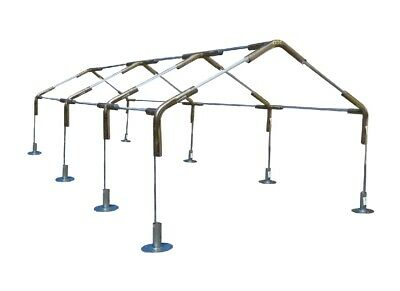"""20 Canopy Foot Pads For 1-3//8/"""" /& 1-5//8/"""" Carport Tent Shade Batting Cage Leg Pole"""