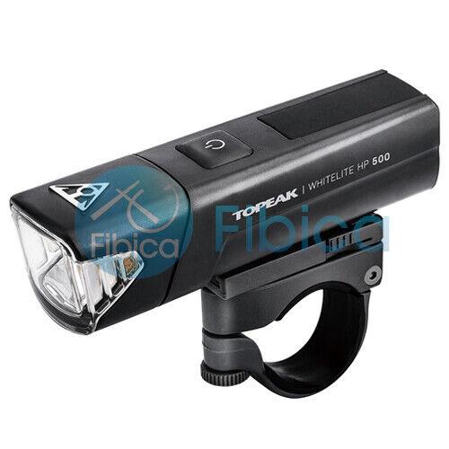 New Topeak WHITELITE HP 500 lumens USB Front Head Cycling Lights IPX6 Waterproof