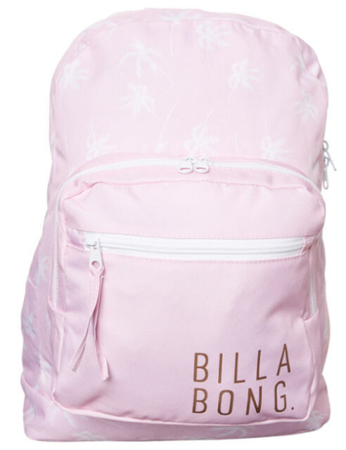 BILLABONG BACKPACK PINK S WOMENS LADIES GIRLS KIDS NEW ONE SIZE BAGS BAG 18L 3f9850d00