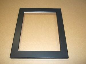 image is loading cr framing frames flat black custom size picture
