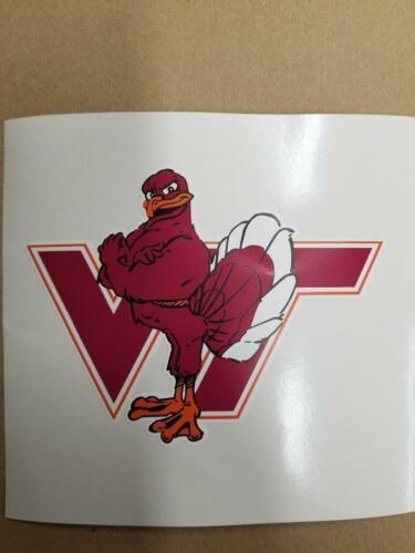 Virginia Tech Hokies cornhole board or vehicle decal(s) NCAA VT3