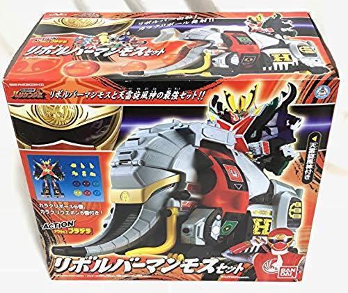 Bandai Power Rangers Tormenta Ninja Sentai Hurricanger Revolver mamut Set