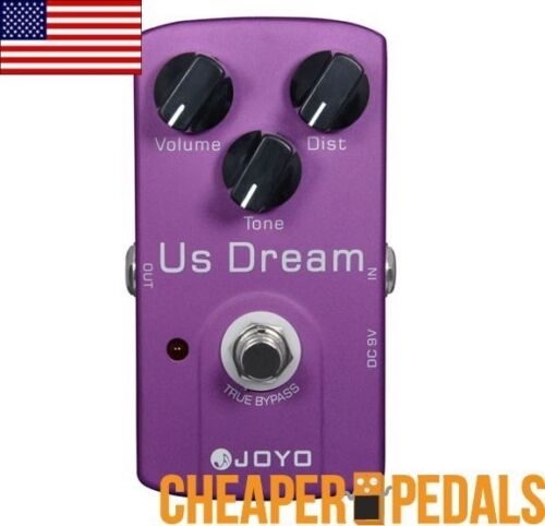 NEW JOYO US DREAM JF-34 Suhr Riot Clone Distortion Pedal *FREE Shipping!