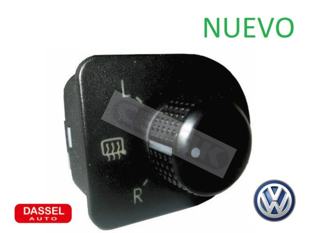 VW NEW BEETLE 1998- CONTROL DE RETROVISORES INTERRUPTOR ESPEJO