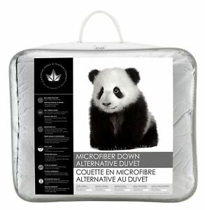 Canadian Down & Feather Co - Microfiber Down Alternative Duvet Machine Washable
