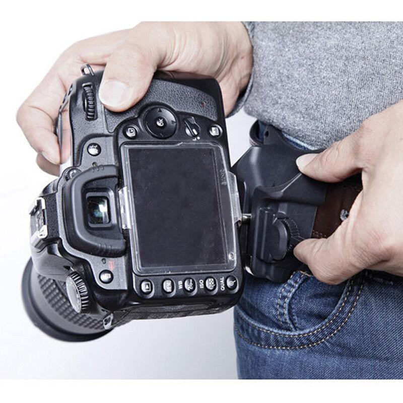 Waist Belt Buckle for Camera Mount DSLR Clip Loading Fast Holster Hanger Holder 11