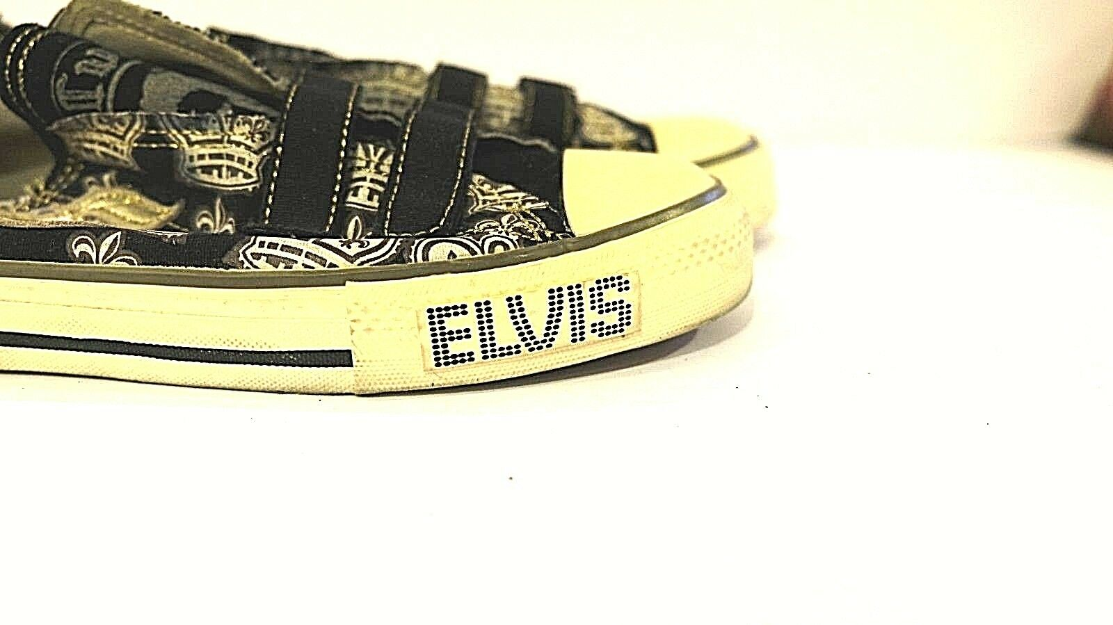 ELVIS COLLECTORS EDITION SHOES SKATER STYLE VELCR… - image 2