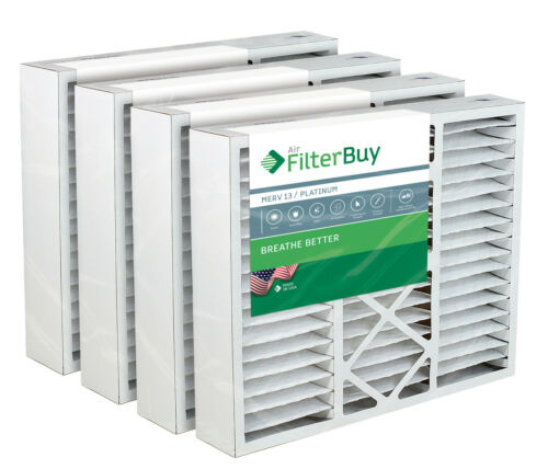 AC Furnace Air Filters Carrier Aftermarket Compatible MERV 13 FilterBuy 24x25x5