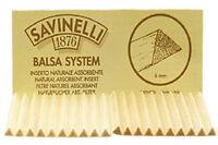 Savinelli 6mm Balsa Pipe Filters - 3 Packs/20each