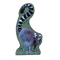 Lemur Standee Party Decoration Safari Theme Africa Animal