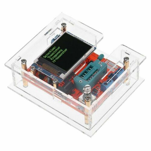 GM328 Multi-use Transistor Tester Diode DIY KITS or IC Block Acrylic Case
