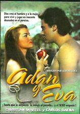 Adan y Eva (1956) DVD NEW Christian Martel y Carlos Baena