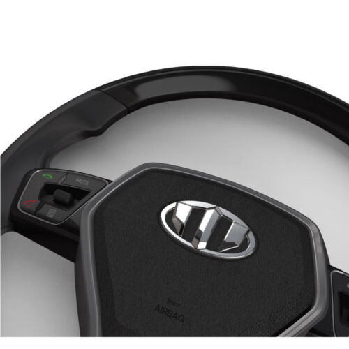 Rear Wheel Horn Cap 3Pcs Set Brenthon Emblem Front Fit: KIA 2017+ Niro