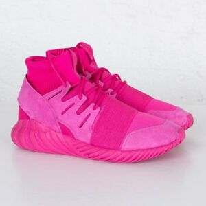 new style c1695 684d7 Details about Adidas Tubular Doom S74795 EQT Pink Men Sizes NEW 100%  Authentic