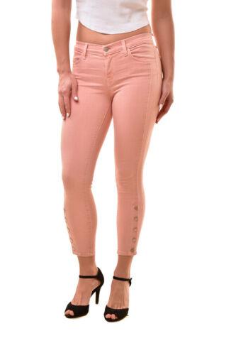 Femmes Crop Jeans J 8215i563 Bcf811 25 Rose Brand skinny Taglia Rrp205 Suvi Dentelle hdsCQrt