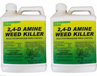 2,4-d Southern Ag Amine Weed Killer Herbicide - 32 Oz. - 2 Pack
