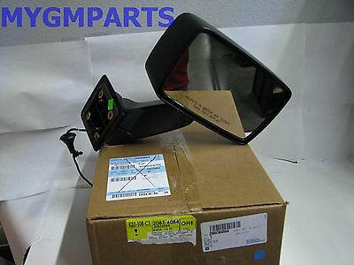 2007-2010 HUMMER H3 CHROME DRIVERS SIDE POWER MIRROR NEW GM #  20836085
