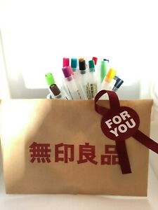 Japan-MUJI-Gel-Ink-Ball-Point-Pen-0-5mm-16-choice-School-Office-Ballpoint-MOMA
