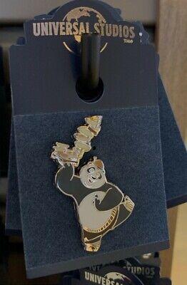 Universal Studios Exclusive Kung Fu Panda Po and Food Pin New