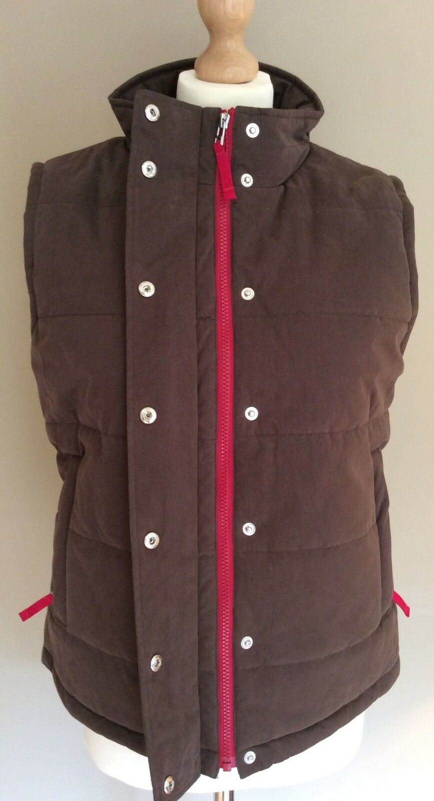BROWN BROWN BROWN PADDED BODEN GILLET SIZE 16 4bad9a