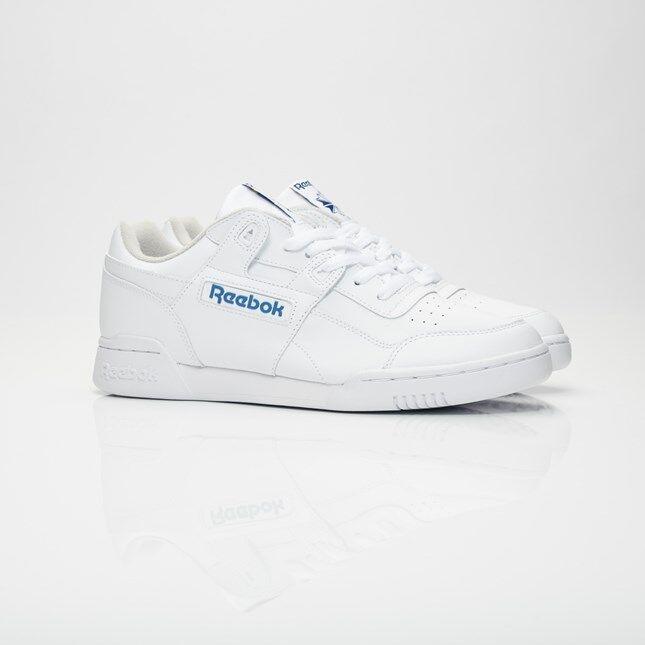 Reebok Workout Plus 2759 White/Royal Men Sizes NEW 100% Authentic