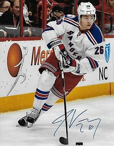 Jimmy Vesey New York Rangers Autographed Signed 8x10 NHL Photo COA C ... 34ef1a7c9