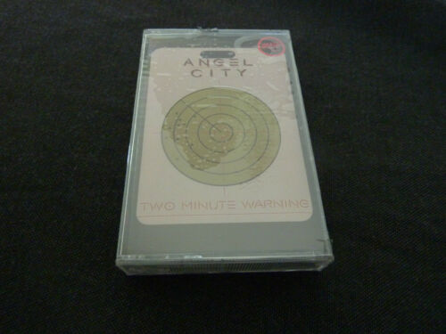 ANGEL CITY TWO MINUTE WARNING ULTRA RARE SEALED CASSETTE TAPE! THE ANGELS