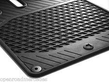 GENUINE OEM SMART CAR ALL SEASON FLOOR MATS IN BLACK 08-15 FORTWO A451 C451
